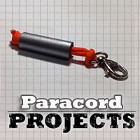 paracord ductape lanyard