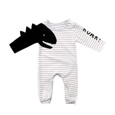 80a5fe07e6ae Roary Dino Romper 3 - 18M – Bitty Botty Baby Gender Neutral Baby Clothes