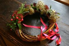 making withy wreaths - Google Search