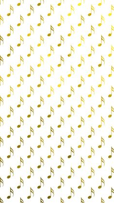 Gold Foil Musical Notes iPhone 5 Wallpaper and iPhone 6 Wallpaper