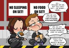 J to J: The Effing Winchesters by KamiDiox.deviantart.com on @DeviantArt