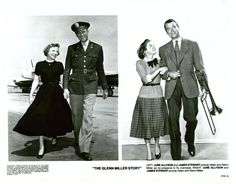 James Stewart and June Allyson - The Glenn Miller Story, 1954