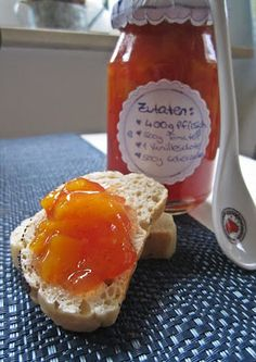 Tomaten-Pfirsichmarmelade