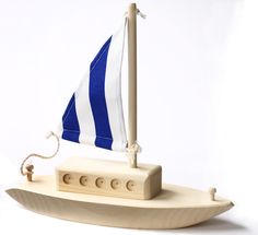 Thorpe Wooden Toy Boat