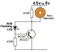 LOW FUEL INDICATOR This circuit has been designed from a