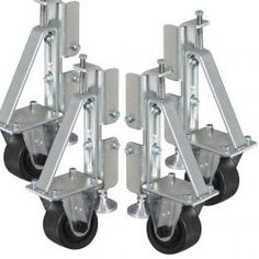 Heavy duty casters let you move your ArcStation with ease.