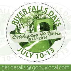 Our community celebration July 10-13th. Activities begin Thursday, a parade Friday, a full day of fun Saturday, and ends with Sunday night fireworks! Get the details -> http://gobuylocal.com/offerseo/River_Falls-WI/Local_Event/3846/1817