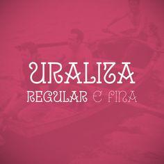 Uralia http://www.behance.net/gallery/Uralita-Font/3896591