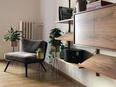 Gynäkologie im Zentrum, Zürich, Schweiz. Interior Susanne Fritz Architekten, Photo © Pierre Kellenberger Fritz, Clinic Design, Lobby Design, Corner Desk, Table, Furniture, Home Decor, Centre, Architects
