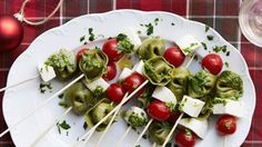 Get this all-star, easy-to-follow Tortellini Skewers recipe from Ree Drummond