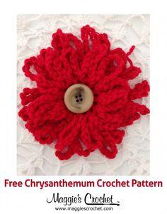 Chrysanthemum – Free Crochet Pattern