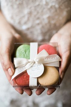 Macaron Favors | photography by http://www.brklynview.com/