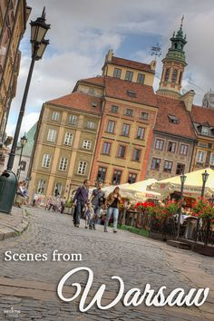 Take a tour around Warsaw, Poland.