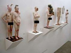 Grotesque Sculptures by Samuel Salcedo
