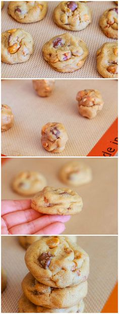 All time favorite peanut butter cookie recipe! Soft-baked, easy, chewy, love them.