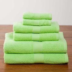 Kiwi Deluxe Six-Piece Cotton Towel Set $39.95