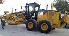 Cat 14M Motor Grader, Heavy Equipment, Tractors, Modeling, Construction, Cats, Building, Gatos, Modeling Photography