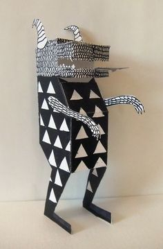 Paper sculpture- I would love to make something like this out of metal for the back yard sculpture garden