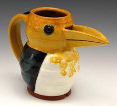 Yellow-Billed Kingfisher jugbird Papua/New Guinea. Earthenware, Stoneware, Kingfisher, Papua New Guinea, Mugs, Yellow, Tableware, Dinnerware, Common Kingfisher