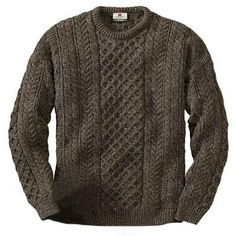 Fisherman's sweater.  Must have for the cold winter nights ahead!