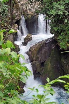 Cascada en Puente de Dios