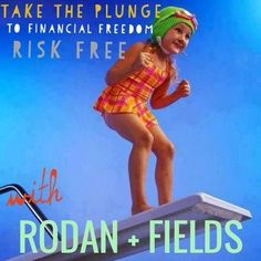 Take the plunge,you'll be glad you did! Contact me for more deatils cloyer.randfskincare@gmail.com