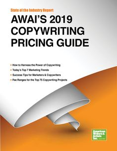 AWAI's 2019 Copywriting Pricing Guide Finally — a comprehensive resource on copywriter rates for today's most effective marketing methods Planner Writing, Copywriter, Blog Tips, Business Goals, Business Tips, Marketing, Career Advice, Writers, Advertising