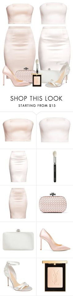 """Glowing Girls ✨✨"" by maryamlovesbeauty ❤ liked on Polyvore featuring ZOEVA, Bottega Veneta, Dune, Jimmy Choo, Imagine by Vince Camuto and Yves Saint Laurent"