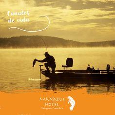 Para los habitantes de Tortuguero, los canales son sinónimo de vida. #MaravillasTortuguero #HotelManatus
