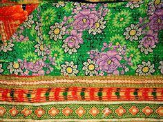 Vintage Kantha throw