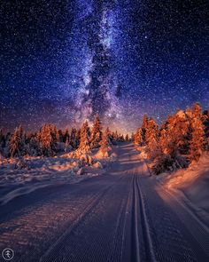 "lsleofskye: ""the first snow hit Oslo today Beautiful Sky, Beautiful Landscapes, Beautiful World, Beautiful Places, Beautiful Pictures, Beautiful Scenery, Landscape Photography, Nature Photography, Sky Full Of Stars"