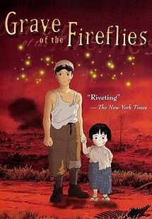 Grave of the Fireflies - Wikipedia, the free encyclopedia - This film will tear the heart right out of your chest - you will probably only watch it once but it will be worth it.