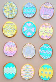 easter cookies | ... had some new easter themed cookie cutters to use and a tin of meringue