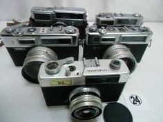 FC5-406HC ヤシカ等 フィルムカメラ 5台セット ジャンク - ヤフオク!   FUJICA  35-SE KONICA  S YASHICA  ELECTRO 35 YASHICA  ELECTRO 35 GSN MEIKAI  EL