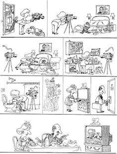 Everything & Nothing: Quino - ¡Yo no fui! Everything And Nothing, Photo Wall, Humor, Mafalda Quino, Photograph, Humour, Funny Photos, Funny Humor, Comedy