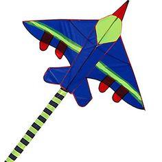 Hengda Kite Long Tail Cartoon Fighter Kites the Plane Kit... https://www.amazon.com/dp/B01N44LJVO/ref=cm_sw_r_pi_dp_x_lpMnzbB3BVC84