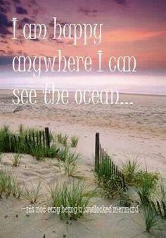 Ocean = Happy