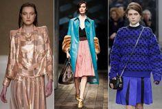 Milão ao quadrado: padronagem é hit na semana de moda italiana