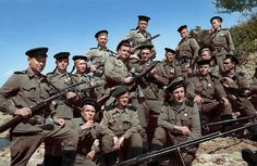 """Marines detachment of Major Caesar Kunikov, 1943 