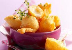 Beignets au comtéVoir la recette des Beignets au comté >>