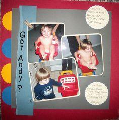 Got+Andy?? - Scrapbook.com