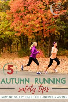 The days are shorter, the nights (and mornings) are cooler. And those wet leaves on the road? They are slippery. Ready or not, the seasons are changing. It's time to revisit our Fall running safety tips. Running A Mile, Running Workouts, Running Tips, Fun Workouts, Marathon Tips, Half Marathon Training, Running Quotes, Running Motivation, Training Plan