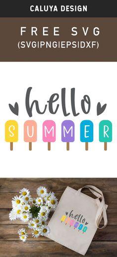 Shilouette Cameo, Hello Summer, Free Summer, Summer Diy, Animated Gifs, Cricut Tutorials, Cricut Ideas, Cricut Craft Room, Silhouette Cameo Projects