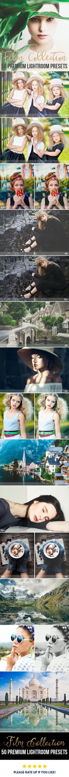 50 The Best Lightroom Presets. Film Emulation in seconds. POP your images and save your time.
