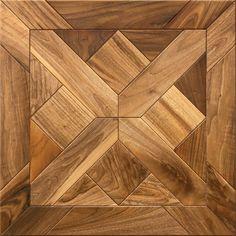 "Oak Parquet Flooring ""Cheverny"" available in Character & Prime Grades. Made of European Oak & European Walnut."