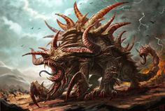 Tarrasque - The 10 Most Memorable Dungeons & Dragons Monsters
