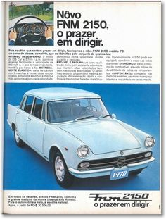 FNM 2150 Alfa Romeo - brochure