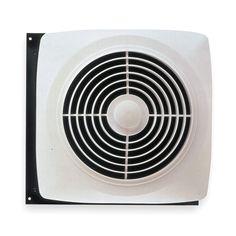Broan Model 509s 8 Inch Through Wall Utility Fan With