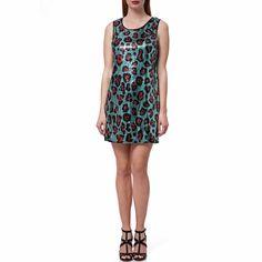 GUESS - Γυναικείο φόρεμα Guess πράσινο μόνο 59.00€ #onsale #style #fashion