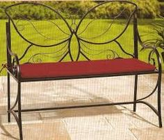 Resultado de imagem para muebles de herreria Iron Furniture, Quality Furniture, Custom Furniture, Outdoor Furniture, Outdoor Decor, Furniture Design, Metal Chairs, Patio Chairs, Metal Bins